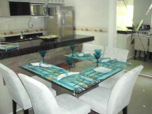 apartamento para venda, 3 dormitórios, parque das nações - santo andré - 3085