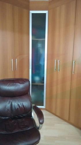 apartamento para venda, 3 dormitórios, parque das nações - santo andré - 3722