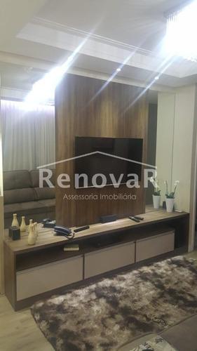 apartamento para venda, 3 dormitórios, parque euclides miranda - sumaré - 490