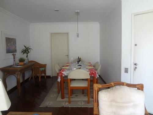 apartamento para venda, 3 dormitórios, perdizes - são paulo - 5546