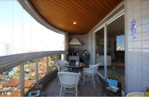 apartamento para venda, 3 dormitórios, perdizes - são paulo - 5642