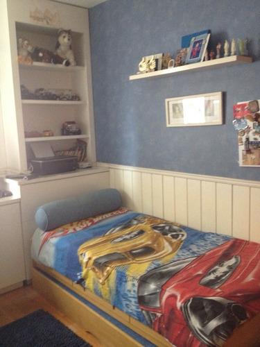 apartamento para venda, 3 dormitórios, perdizes - são paulo - 6024