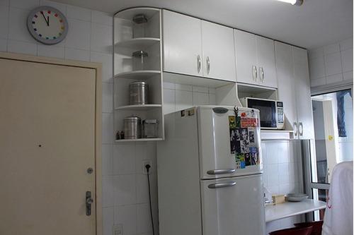 apartamento para venda, 3 dormitórios, perdizes - são paulo - 6422