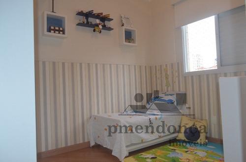 apartamento para venda, 3 dormitórios, perdizes - são paulo - 8366