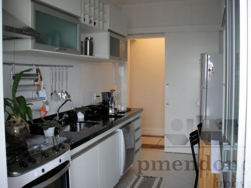 apartamento para venda, 3 dormitórios, pompéia - são paulo - 7416