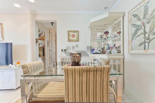 apartamento para venda, 3 dormitórios, pompéia - são paulo - 9822