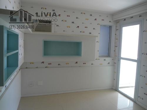 apartamento para venda, 3 dormitórios, praia do canto - vitória - 1648