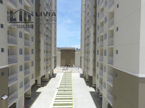 apartamento para venda, 3 dormitórios, residencial coqueiral - vitória - 1771