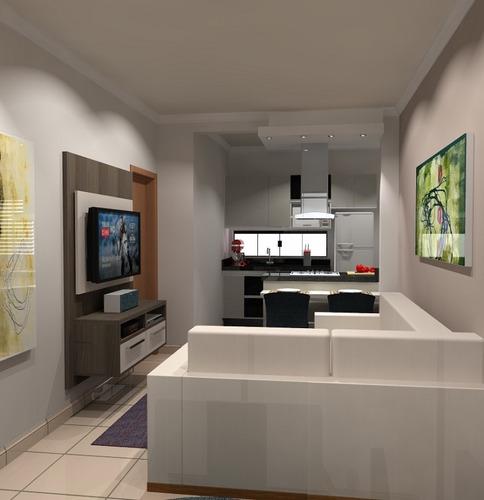 apartamento para venda, 3 dormitórios, residencial village santana - guaratinguetá - 1528