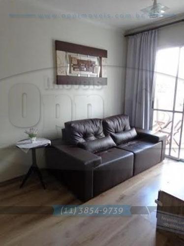 apartamento para venda, 3 dormitórios, sacomã - são paulo - 3205