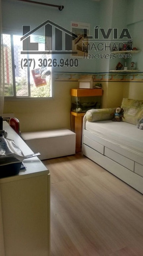 apartamento para venda, 3 dormitórios, santa lúcia - vitória - 1523