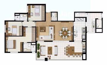 apartamento para venda, 3 dormitórios, santo amaro - são paulo - 1616