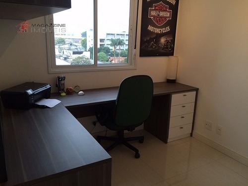 apartamento para venda, 3 dormitórios, várzea de baixo - são paulo - 2351