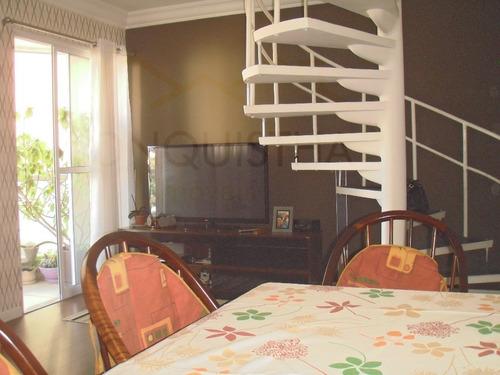 apartamento para venda, 3 dormitórios, vila caminho do mar - são bernardo do campo - 3488