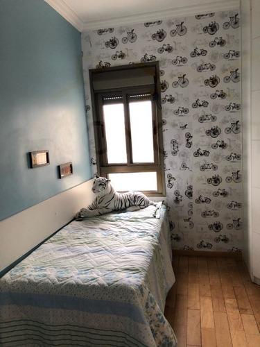 apartamento para venda, 3 dormitórios, vila caminho do mar - são bernardo do campo - 4000