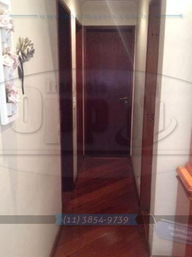 apartamento para venda, 3 dormitórios, vila clementino - são paulo - 3136