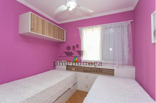 apartamento para venda, 3 dormitórios, vila ipojuca - são paulo - 9408