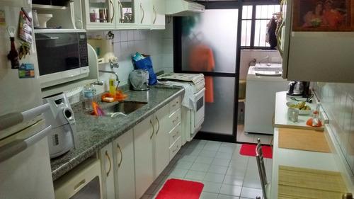 apartamento para venda, 3 dormitórios, vila mangalot - são paulo - 8268