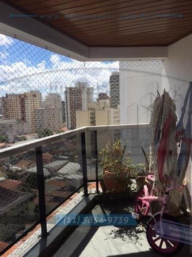 apartamento para venda, 3 dormitórios, vila mariana - são paulo - 2411