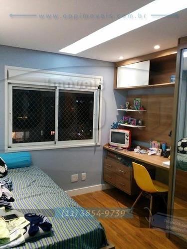apartamento para venda, 3 dormitórios, vila mariana - são paulo - 3289