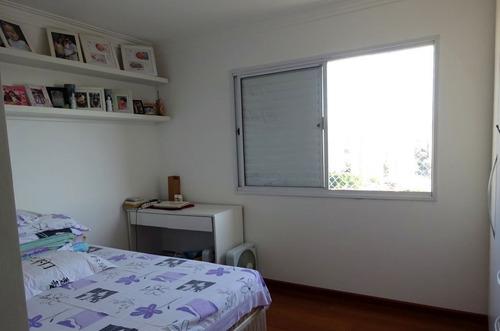 apartamento para venda, 3 dormitórios, vila romana - são paulo - 6587
