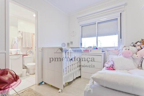 apartamento para venda, 3 dormitórios, vila romana - são paulo - 9905