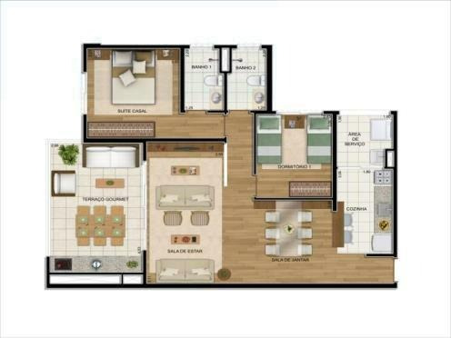 apartamento para venda, 3 dormitórios, vila vermelha - são paulo - 1567