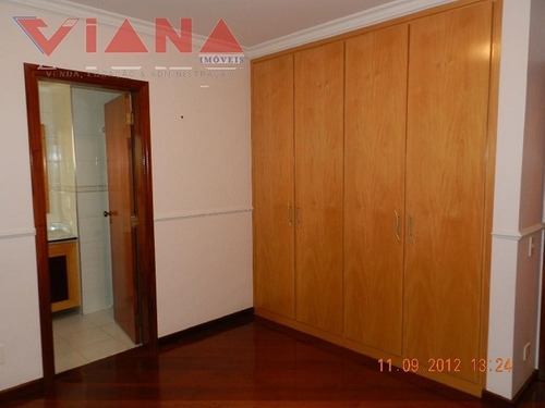 apartamento para venda, 4 dormitórios, bela vista - santo andré - 3534