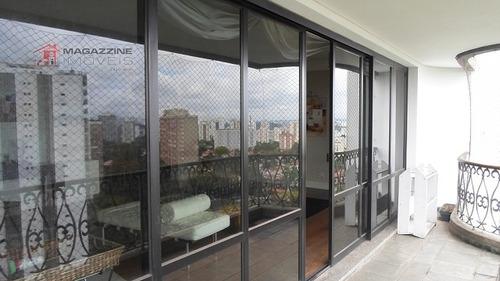apartamento para venda, 4 dormitórios, chacara flora - são paulo - 2722