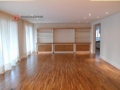 apartamento para venda, 4 dormitórios, chácara santo antônio (zona sul) - são paulo - 2436