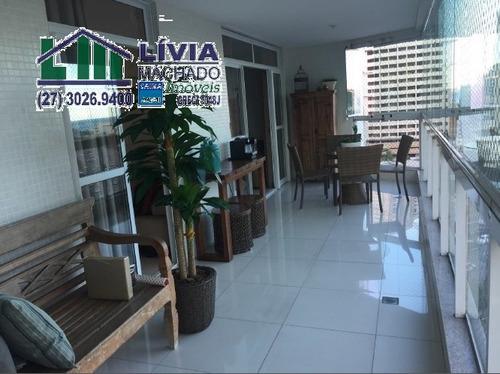 apartamento para venda, 4 dormitórios, enseada do suá - vitória - 1225