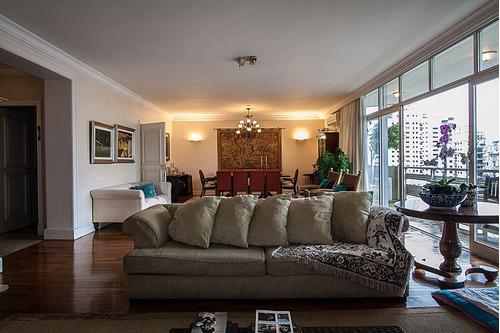apartamento para venda, 4 dormitórios, higienópolis - são paulo - 6768