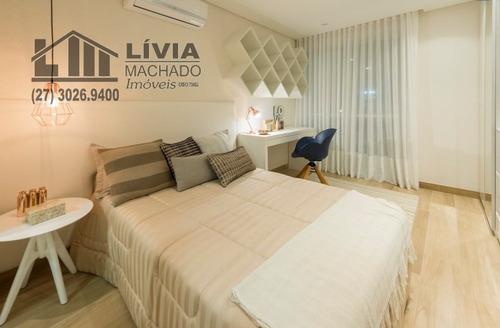 apartamento para venda, 4 dormitórios, itapuã - vila velha - 1729
