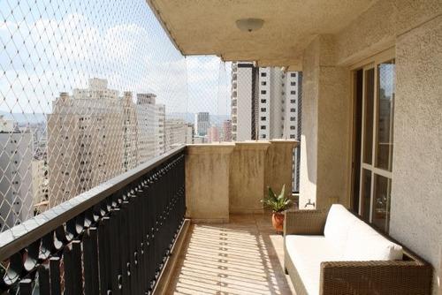 apartamento para venda, 4 dormitórios, perdizes - são paulo - 736