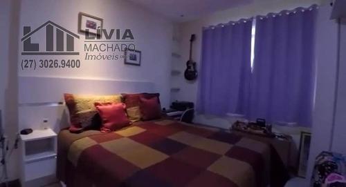 apartamento para venda, 4 dormitórios, praia da costa - vitória - 1760