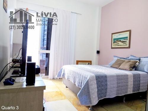 apartamento para venda, 4 dormitórios, praia do canto - vitória - 1720