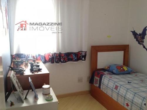 apartamento para venda, 4 dormitórios, vila guarani - são paulo - 1639