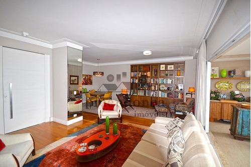 apartamento para venda, 4 dormitórios, vila romana - são paulo - 1116