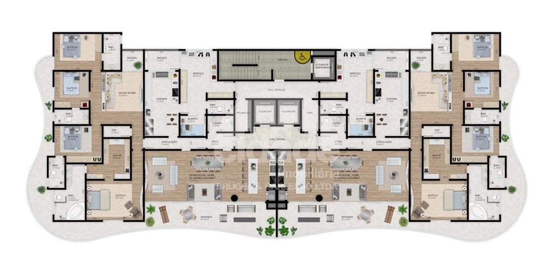 apartamento para venda - 98125.001