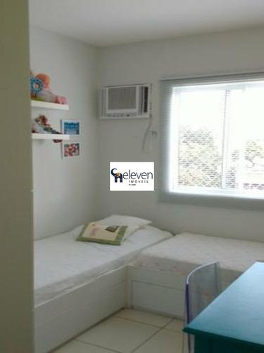 apartamento para venda acupe de brotas, salvador 3 dormitórios sendo 1 suíte, 1 sala, 1 banheiro, 1 vaga, 68 m². - ap00552 - 32268308