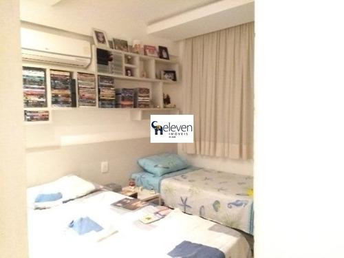 apartamento para venda armação, salvador 4 dormitórios sendo 3 suítes, 1 sala, 4 banheiros, 3 vagas 131,00 útil  preço: r$ 900.000 , condomínio: r$ 1035 iptu: r$ 1065 - ap00562 - 32283525