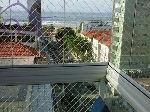 apartamento para venda boqueirão praia grande - 5039