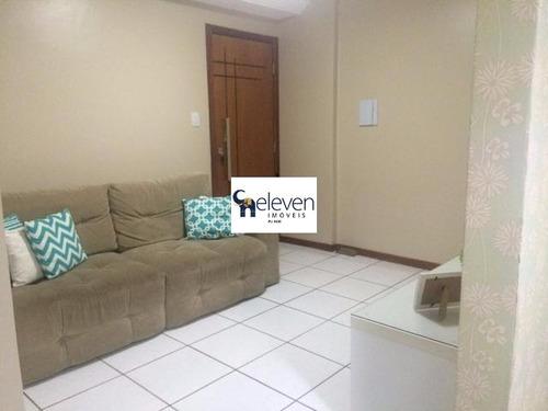 apartamento para venda brotas, salvador nascente 1 dormitório, 2 salas, 1 banheiro, armários embutidos, 1 vaga, 48 m². - tjl426 - 4754662