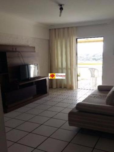 apartamento para venda caminho das arvores, salvador 1 dormitório sendo 1 suíte, 1 sala, 1 banheiro, 1 vaga 40,00 útil, - tjn448 - 3235176