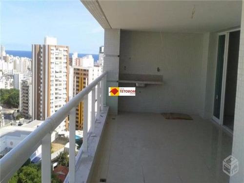 apartamento para venda caminho das arvores, salvador 3 dormitórios sendo 3 suíte, 1 sala, 3 banheiros, 3 vagas 155,00 útil, 155,00 total r$ 1.150.000,00  código tjl620 - tjl620 - 3310930