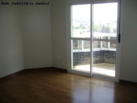 apartamento para venda chácara urbana jundiaí, com  04 dormitórios com armários sendo 02 suites (01 master), banheiro com gabinete e blindex - ap01439 - 1990438