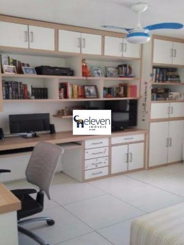 apartamento para venda chame-chame, salvador com: 3 dormitórios sendo 2 suítes, 2 salas, 1 banheiro, 2 vagas, 122 m². - tjl1018 - 4703683