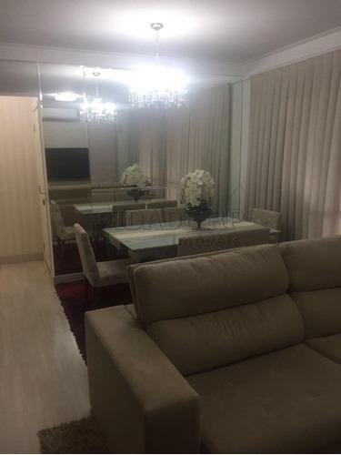 apartamento para venda condominio pracas do golf, frente ao shopping iguatemi , 104,71m2 com 3 suítes, rico em armários, ar condicionado em todos os a - ap00092 - 33590235
