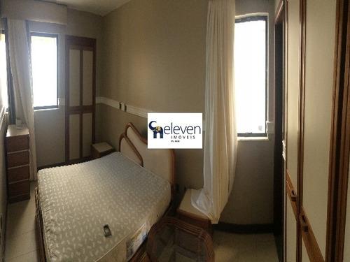 apartamento para venda corredor da vitória, salvador 3 dormitórios sendo 1 suíte, 2 salas, 4 banheiros, 2 vagas 128,00 útil r$ 1.300.000,00, condomínio r$ 1.370,00 - tot2000 - 4930899