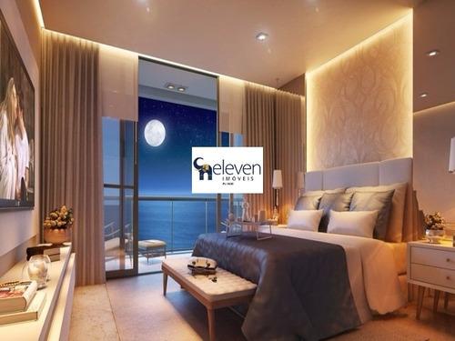 apartamento para venda d´zur jaguaribe- construtora odebrecht jaguaribe, salvador 4 dormitórios sendo 4 suítes, 2 salas, 6 banheiros, 4 vagas 235,00 útil r$ 2.242.000,00 - tdz7722 - 31978938
